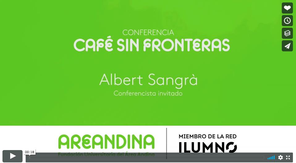 Café sin Fronteras. Fundación Areandina, Bogotá (Colombia)
