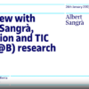 Interview with Albert Sangrà, EDUL@B researcher