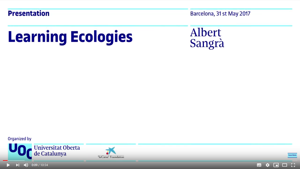 Learning Ecologies – UOC Research Showcase