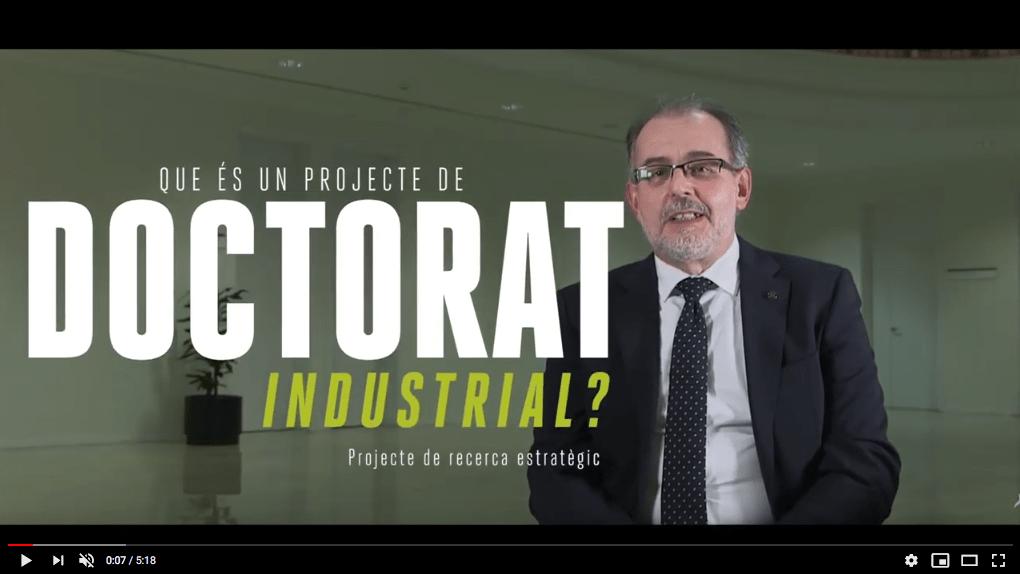 Què és un projecte de Doctorat Industrial?