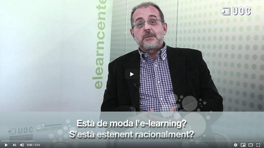 L'e-learning ha vingut per quedar-se